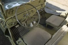 Willys MB   Interior 1944 Willys MB