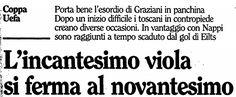 SCRIVOQUANDOVOGLIO: CALCIO COPPA UEFA:SEMIFINALI ANDATA (03/04/1990)