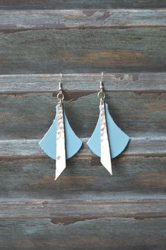 Handmade Leather Earrings from Thailand #126 · Purchase Effect · Online Store Powered by Storenvy