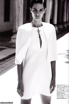 Iris Strubegger in 'Morgenstern' - Photographed by Phil Poynter (Vogue Germany October 2011)