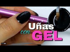 CLASE #38 💅🏻 UÑAS de GEL con TIPS (natural) PASO A PASO - YouTube Gel Nails, Manicure, Nail Polish, Beauty Makeup, Nail Designs, Nail Art, Youtube, Samara, Hair