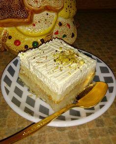 Greek Desserts, Greek Recipes, Mumbai Street Food, Semolina Cake, Dairy Free Diet, My Best Recipe, No Bake Cake, Food Porn, Good Food