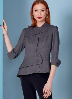 V1839 | Misses' Jacket | Vogue Patterns