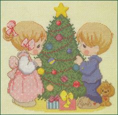 May Your Christmas Be Decorated, Precious Moments, Designs by Gloria & Pat.