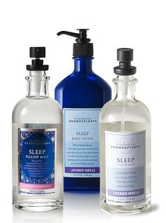Lavender Vanilla Sleep~Bath & Body Works. Love this!