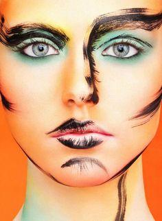 brush strokes makeup (make-up artist Einat Dan) NEW Real Techniques brushes makeup -$10 http://youtu.be/IO-9I8b6Su8