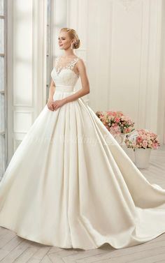 US$193.49-Beautiful Backless  Lace Wedding Dress with Open Back. https://www.doriswedding.com/a-line-mini-jewel-bell-appliques-court-train-backless-button-lace-dress-p713430.html#.  Free custom made service of any Winter Wedding Dress design & Free Shipping! Browse the complete selection of unique design wedding dresses, each featuring the latest design with careful attention to detail and amazing quality, fit to finish. #DorisWedding.com