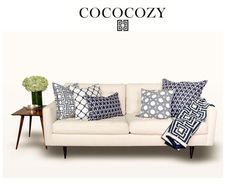 couch pillow arrangements | ... pillows and throw on sofa with green hydrangea flower arrangement want