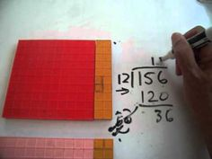 """Showing Long Division With Base Ten Blocks makes it EZ. This is another slightly more formal page of """"how to"""" insturction on this dreaded topic. Make it fun and easy with simple stories. Long Division Strategies, Multiplication, Math, Base Ten Blocks, Simple Stories, Homeschool, Teaching, Patterns, Formal"""