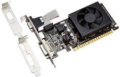 玄人志向 グラフィックボード nVIDIA GeForce GT520 1GB LowProfile PCI-E RGB DVI HDMI 空冷FAN 1スロット GF-GT520-LE1GH 玄人志向 http://www.amazon.co.jp/dp/B004X8A398/ref=cm_sw_r_pi_dp_UuYEub1JKSCAH