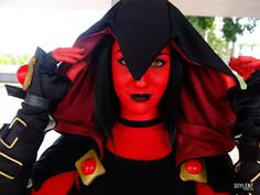 A RED Raven cosplay from Teen Titans!Ame Comi version! - 10 Raven Cosplays