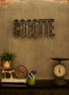 Rustic Industrial Restaurants  Cocotte Presents a Gritty Interior Design