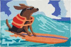 Surf Dog by Jellybean® >>> See this great product. (This is an affiliate link) #Doormats