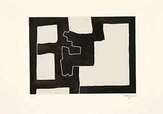 Eduardo Chillida (1924-2002), Inguru IV, 1968.  Etching and aquatint mounted on China paper. Plate size: 43.2cm H x 59.2cm W. Sheet size: 63.5cm H x 89.5cm W. Edition of 50 copies.