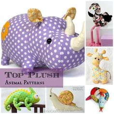 Sewing Gifts For Kids Top 9 Toy Animal Sewing Patterns - Top 9 Toy Animal Sewing Patterns - great designs! Sewing Toys, Sewing Clothes, Sewing Crafts, Diy Gifts Sewing, Sew Gifts, Sewing Stuffed Animals, Stuffed Animal Patterns, Stuffed Animal Diy, Homemade Stuffed Animals