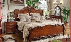 Cheap Bedroom Furniture, Entry Furniture, Royal Furniture, Furniture Making, Home Furniture, Wooden Bed Frames, Wholesale Furniture, King Beds, Bed Sizes