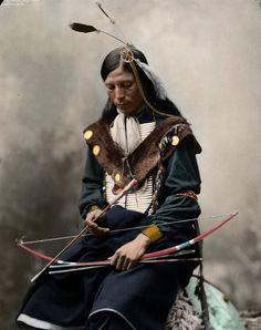 Chefe da tribo Sioux, 1899
