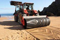 patroon in het zand
