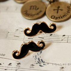 Discount China china wholesale Sexy Lovely Drops Of Oil Moustache Ear Hammer Earringg 6485 [6485] - US$0.99 : Bluelans