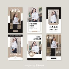sale fashion Fashion sale stories collectio Free V - sale Instagram Story Template, Instagram Story Ideas, Friends Instagram, Fashion Graphic Design, Graphic Design Posters, Social Media Banner, Social Media Design, Banner Design, Layout Design