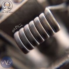 Fused Clapton | Dual coil | Twistedmesses RDA | Specs: 2-26g #AN80 cores wrapped…