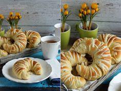 ...konyhán innen - kerten túl...: Joghurtos sós kifli Bread Recipes, Garlic, Food And Drink, Cookies, Vegetables, Brot, Crack Crackers, Biscuits