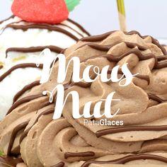 MousNut Glace vanille - sorbet noix de coco - mousseline au Nutella - Nutella