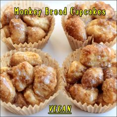 Vegan Monkey Bread Cupcakes | Made Just Right by Earth Balance vegan plantbased