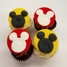 It's basically Disneyland in our bakery! Mickey Mouse Cupcakes, Fun Cupcakes, Delicious Food, Disneyland, Bakery, Desserts, Cool Cupcakes, Yummy Food, Bakery Shops