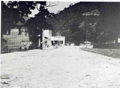 First cement-paved cobblestone street in USA was this one in Webster springs, WV--EWVAIH