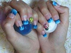I should make Dani give me SpongeBob next appointment in honor of Alyssa's Birthday Party Theme! LOL