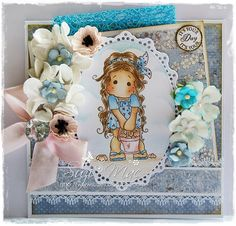 Sugar n Spice: Midweek Magnolias #69 Buttons n Bows  NEAT FOR AROUND NICOLES BIRTH ANOUNCMENT