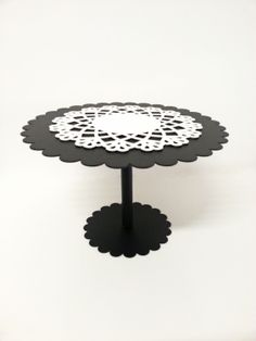Melissa #cake stand + Ricami under plate  Love this combination!!