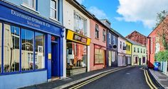 Colorful Streets of Kinsale – County Cork, Ireland