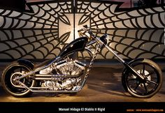 West Coast Choppers - Manuel Hidago El Diablo II Rigid