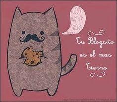 The kitten &The Hat Blue: PREMIO DOBLE: AL BLOG MÁS TIERNOY MI 1º PREMIO DAR...