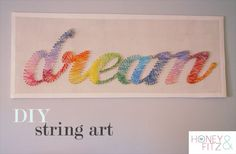 DIY String Art Tutorial