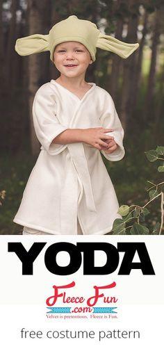 Tutorial: Fleece Yoda costume
