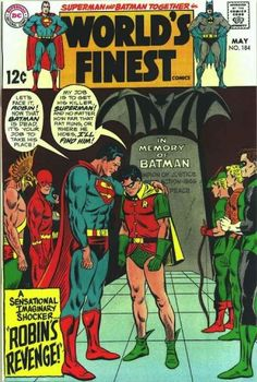 …which probably led to Robin avenging his murder.