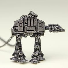 Women's Bioworld x Star Wars AT-AT necklace