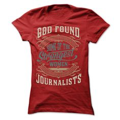 Journalist T-Shirts, Hoodies. SHOPPING NOW ==► https://www.sunfrog.com/LifeStyle/Journalist-14673280-Ladies.html?id=41382