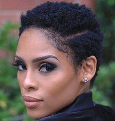 FABULOUS Fake Perm Rod Set w/ Deep Side Part [TWA] – Cute designs on curly hair,… - dagative.