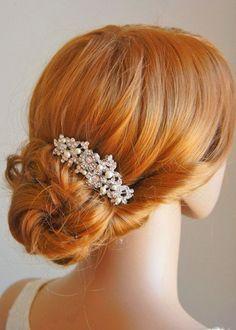 10 complementos para el peinado de la Novia   Preparar tu boda es facilisimo.com