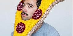 Delicious Fashion: Artist Crochets Hilarious Food-Based Hats