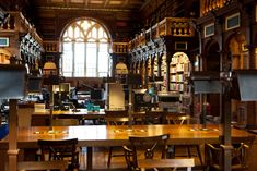 DH - James Whitaker  Duke Humphrey's Reading Room, Bodleian Library, Oxford.
