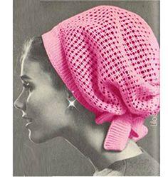 Crochet Pattern Vintage 60s Crochet Hat Pattern by Liloumariposa