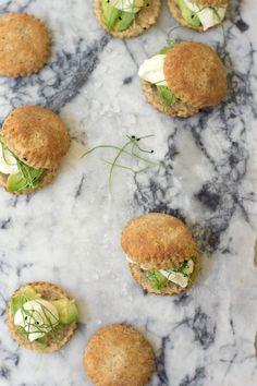 Herb & Rye Mini Biscuits