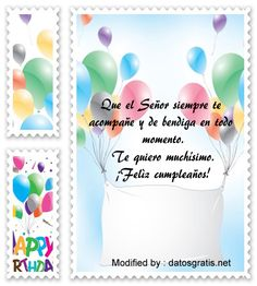 textos de feliz cumpleaños para enviar,textos de cumpleaños para enviar por Whatsapp: http://www.datosgratis.net/descargar-frases-bonitas-de-cumpleanos/
