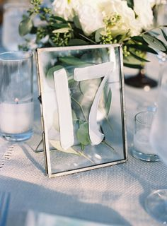 Table number. could be easy diy