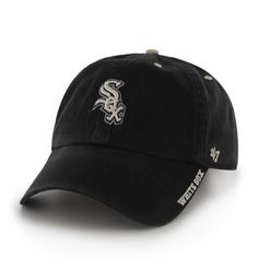7ffe66978a7 Chicago White Sox Ice Black 47 Brand Adjustable Hat